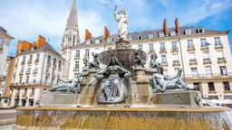 Nantes hotels near Cours Cambronne